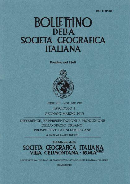 View Vol. 8 No. 1 (2015): Serie 13